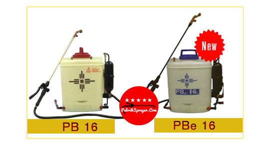 PabrikSprayer.Com - Jual Tangki Knapsack Sprayer (Alat Semprot Tanaman Pertanian) PB16, PBe 16, PBe 20 & PB-20