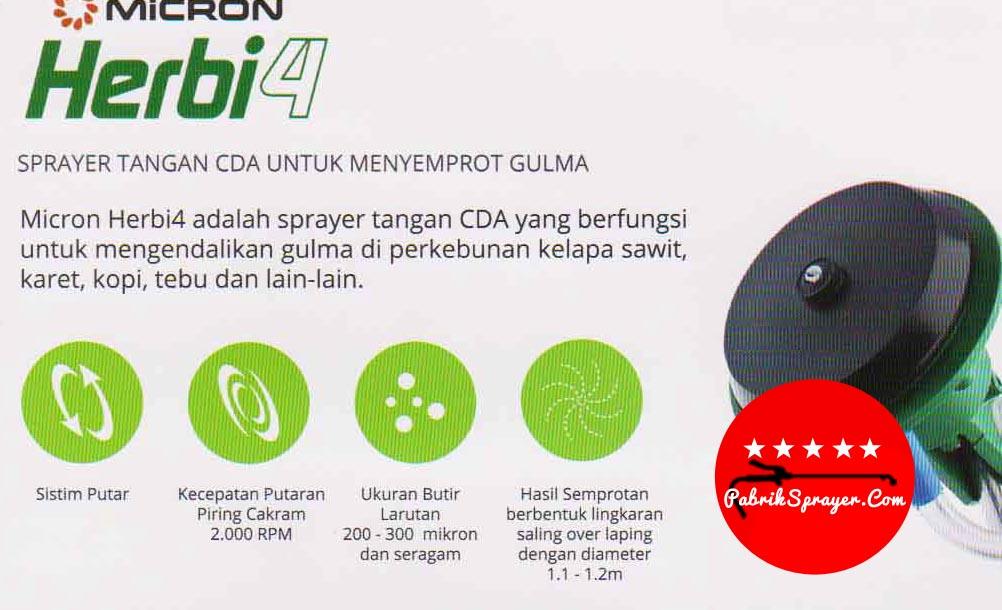 CDA Micron herbi4