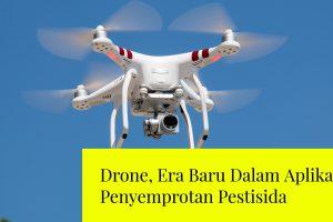 drone penyemprotan pestisida