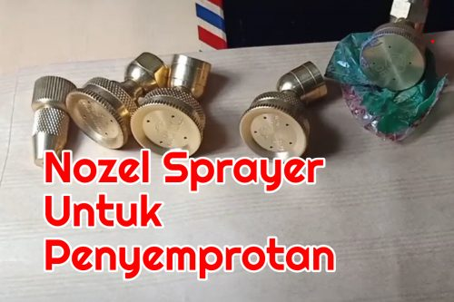 nozel sprayer penyemprotan